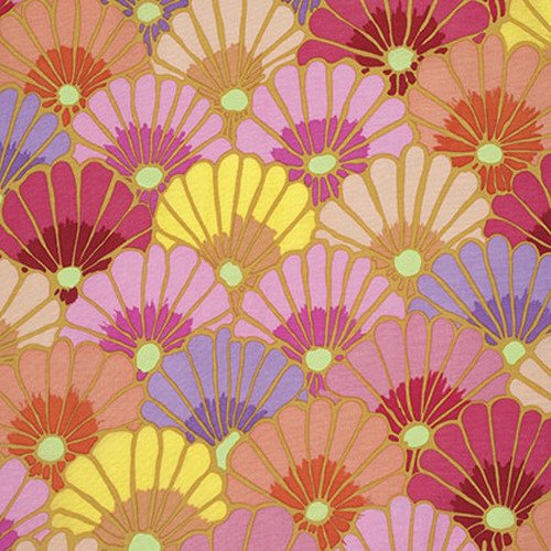 Kaffe Fassett Collective - Thousand Flowers - Pink PWGP144.PINKX