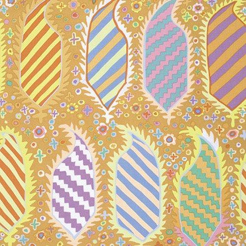 Kaffe Fassett Collective - Striped Heraldic - Gold PWGP153.GOLDX