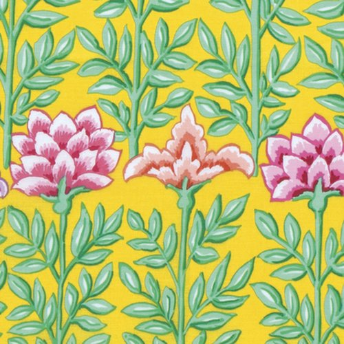 Kaffe Fassett Collective - Mughal - Yellow PWGP161.YELLO