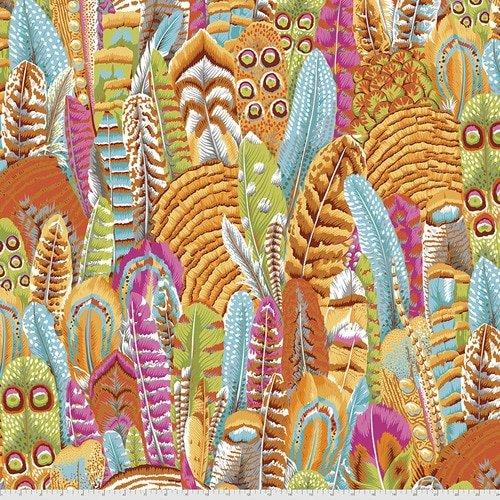 Kaffe Fassett Collective - Feathers - Yellow PWPJ055.YELLO