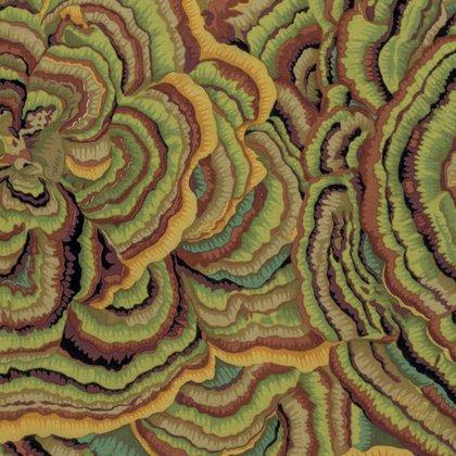 Kaffe Fassett Collective - Tree Fungi - Moss PWPJ082.MOSSX