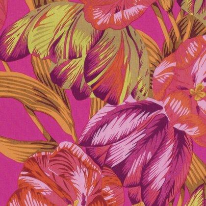 Kaffe Fassett Collective [Spring 2017] - Tulip Extravaganza - PINK PWPJ089.PINKX