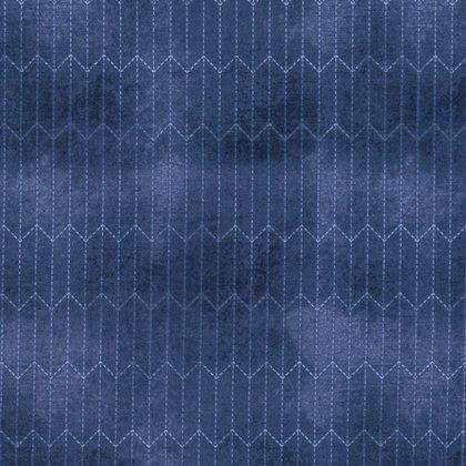 Dapper - Chalk Lines - Blue PWTH067.8BLUE