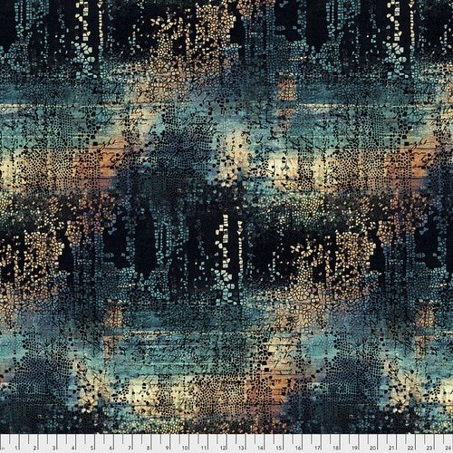 Eclectic Elements - Fractured Mosaic - PWTH130.INDIGO