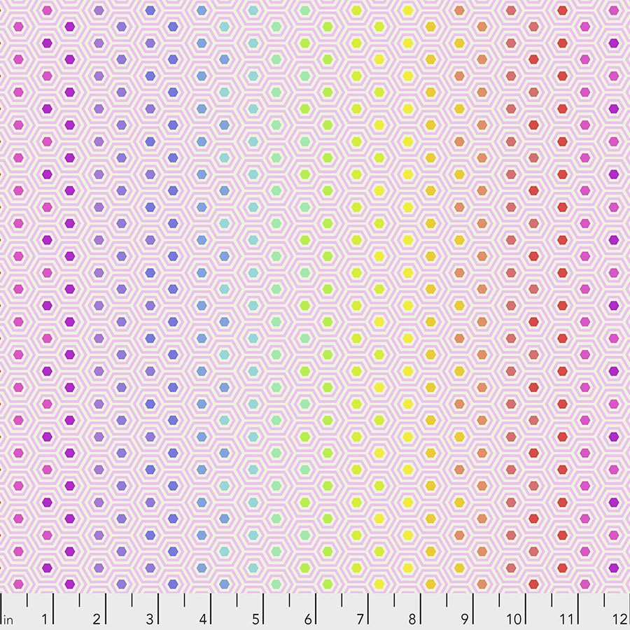 Tula's True Colors - Hexy Rainbow - Shell PWTP151.SHELL