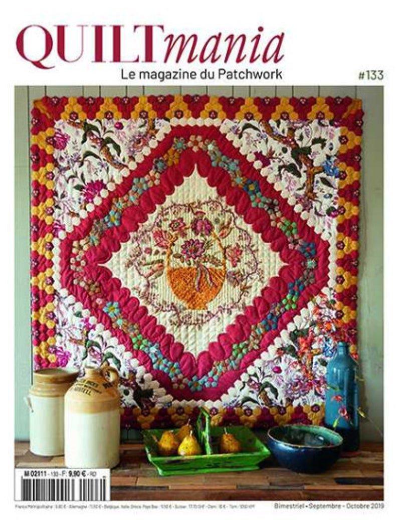 Quiltmania Magazine #133