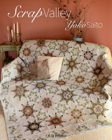 Scrap Valley - Softcover. By Quiltmania Yoko Saito