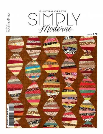 Quarterly Simply Moderne Magazine #10 by Quiltmania