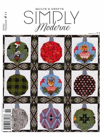 Quarterly Simply Moderne Magazine #11 by Quiltmania