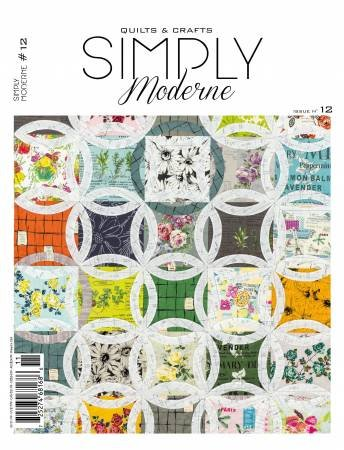 Quarterly Simply Moderne Magazine #12 by Quiltmania