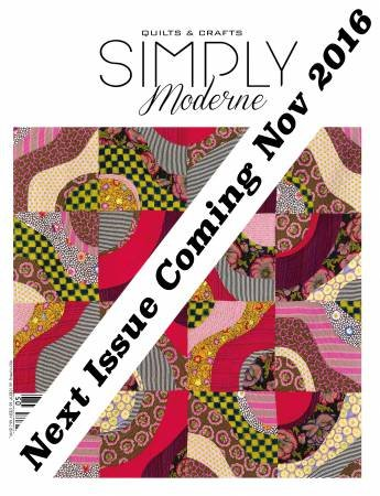 Quarterly Simply Moderne Magazine #7 by Quiltmania