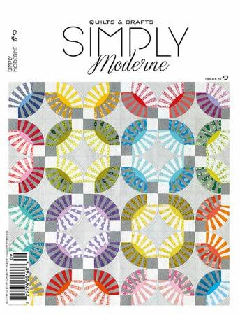 Quarterly Simply Moderne Magazine #9 by Quiltmania