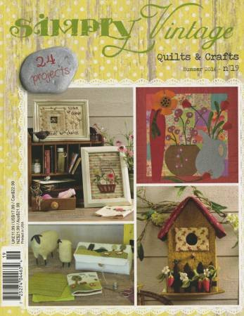 Quarterly Simply Vintage Magazine #19 - by Quiltmania