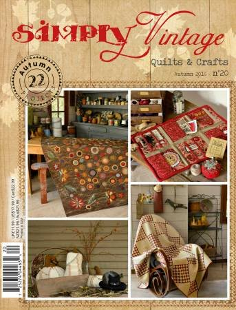 Quarterly Simply Vintage Magazine #20 - by Quiltmania