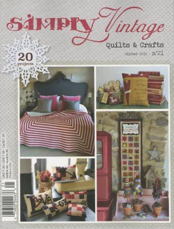 Quarterly Simply Vintage Magazine #21 - by Quiltmania