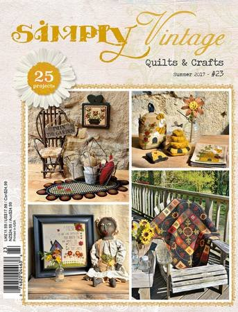 Quarterly Simply Vintage Magazine #23 by Quiltmania