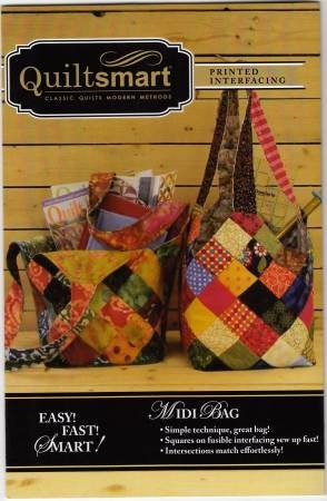Midi Bag Fun Pack Pattern by Quiltsmart