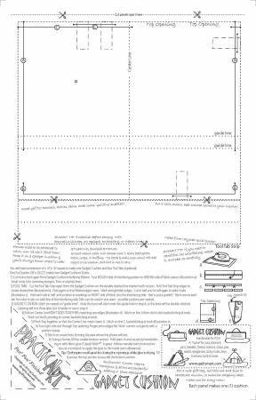 Gadget Cushion Printed Interfacing