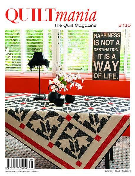 Quiltmania Magazine #130