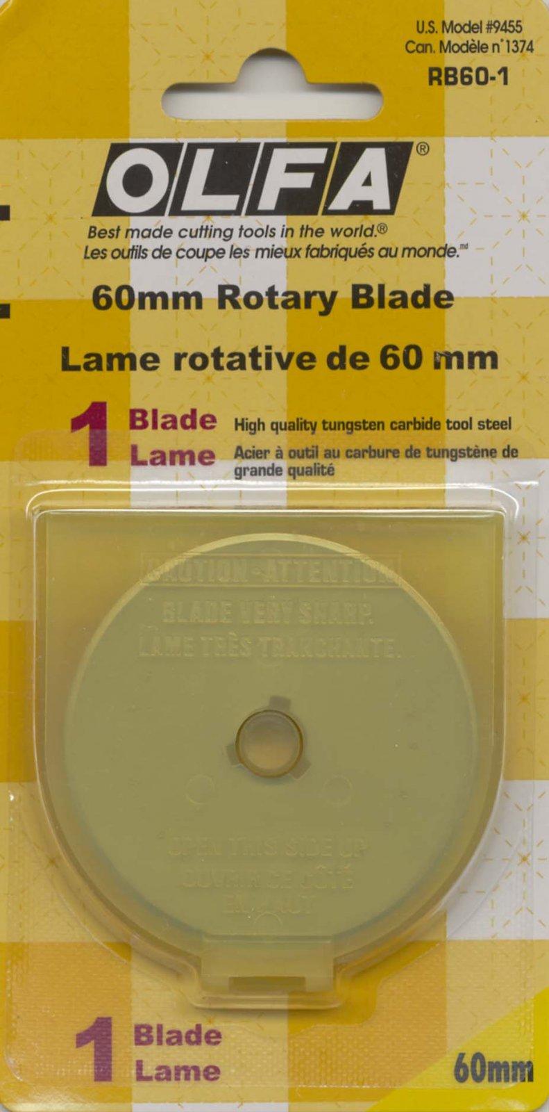 Rotary Blade RTY3 60 mm 1ct