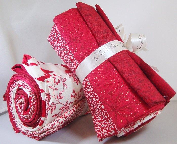 Red & White Fat Quarter Bundle