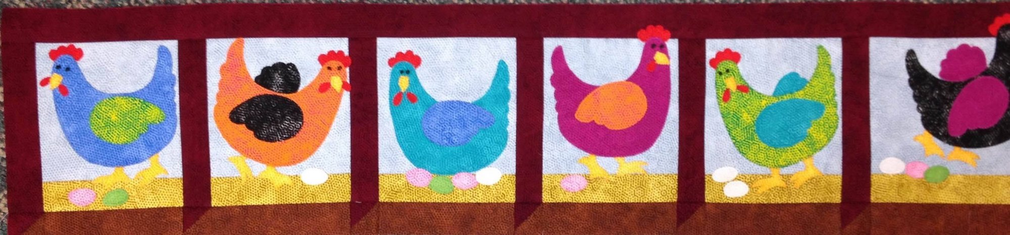 Row by Row Pattern 2016 (Chickens)