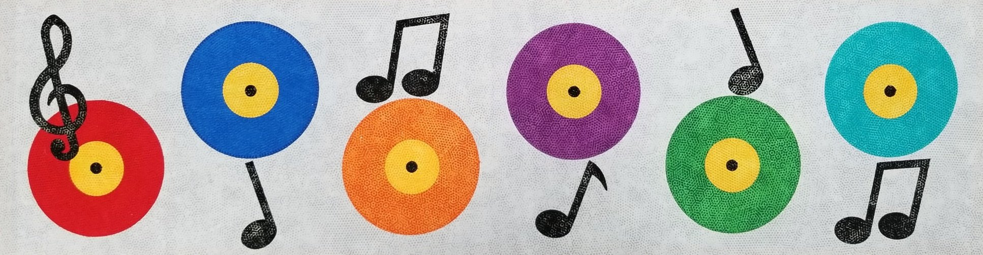 Row by Row Pattern 2018 Sew Musical (Records)
