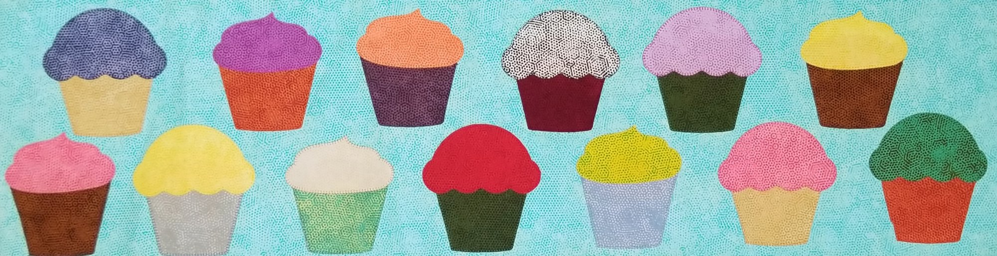 Row by Row Pattern 2019 Cupcakes