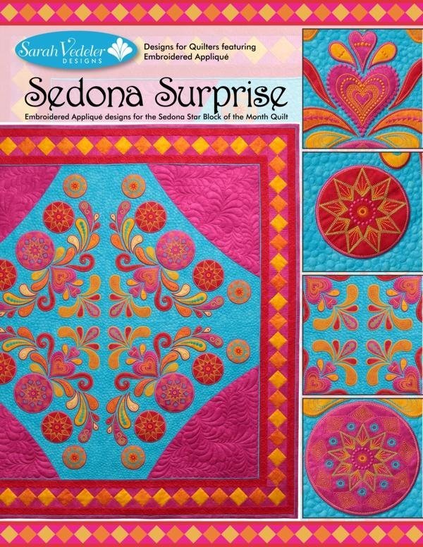Sedona Surprise Embroidery CD by Sarah Vedeler
