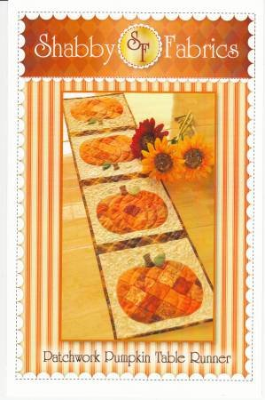 Patchwork Pumpkin Table Runner Pattern by Shabby Fabrics