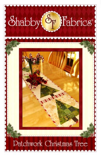 Patchwork Christmas Tree Pattern by Shabby Fabrics