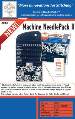Machine NeedlePack II
