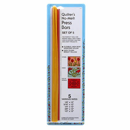 Quilter's No-Melt Press Bars (set of 5)