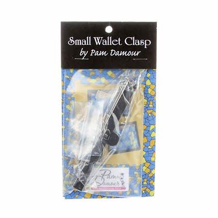 Wallet Clasp Frame Black 4-1/2