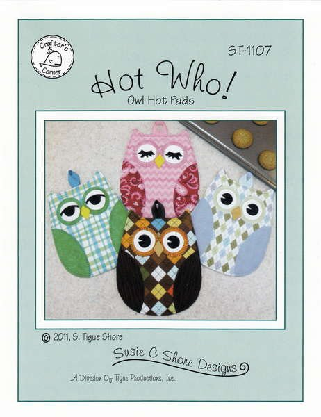 Hot Who! Owl hot Pad Pattern