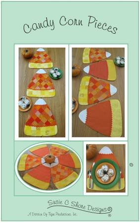 Candy Corn Pieces Pattern