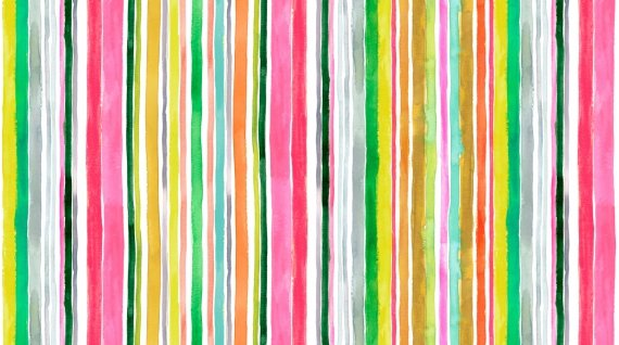 Spring Theory 1095-MULTI Water Stripe