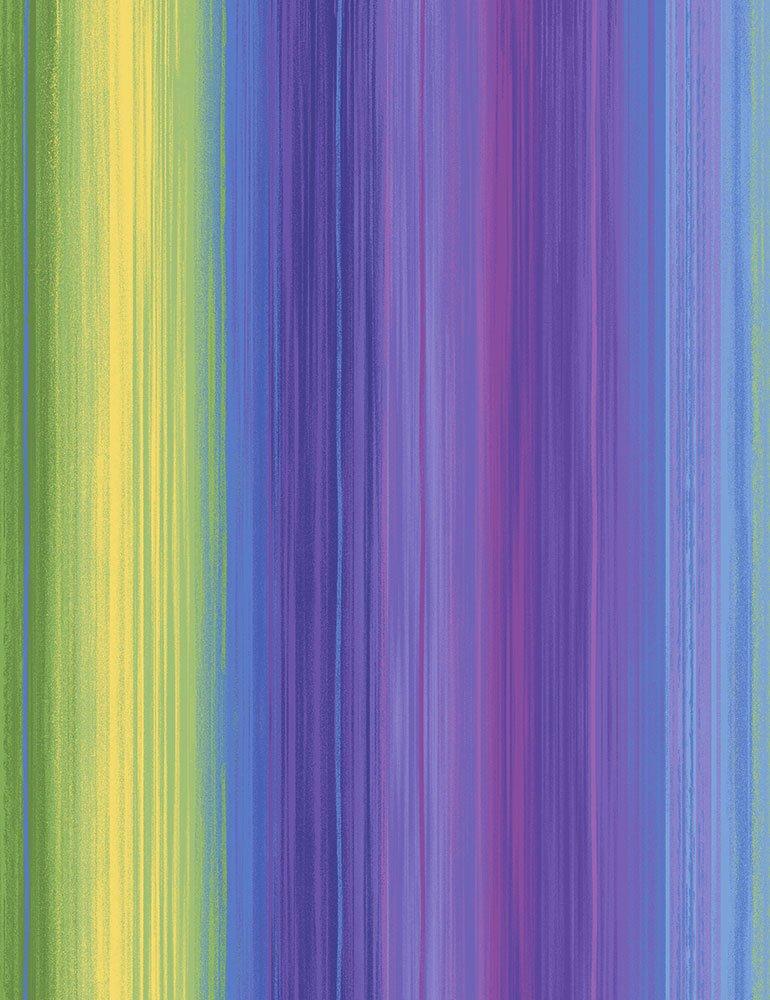 Pansy Paradise Stripe C7729-MULTI