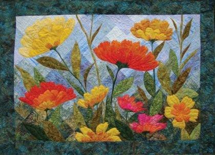 Quilt Backing - Summer Blooms Quilt