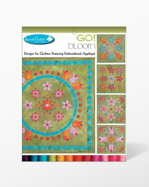 GO! Bloom Embroidery CD