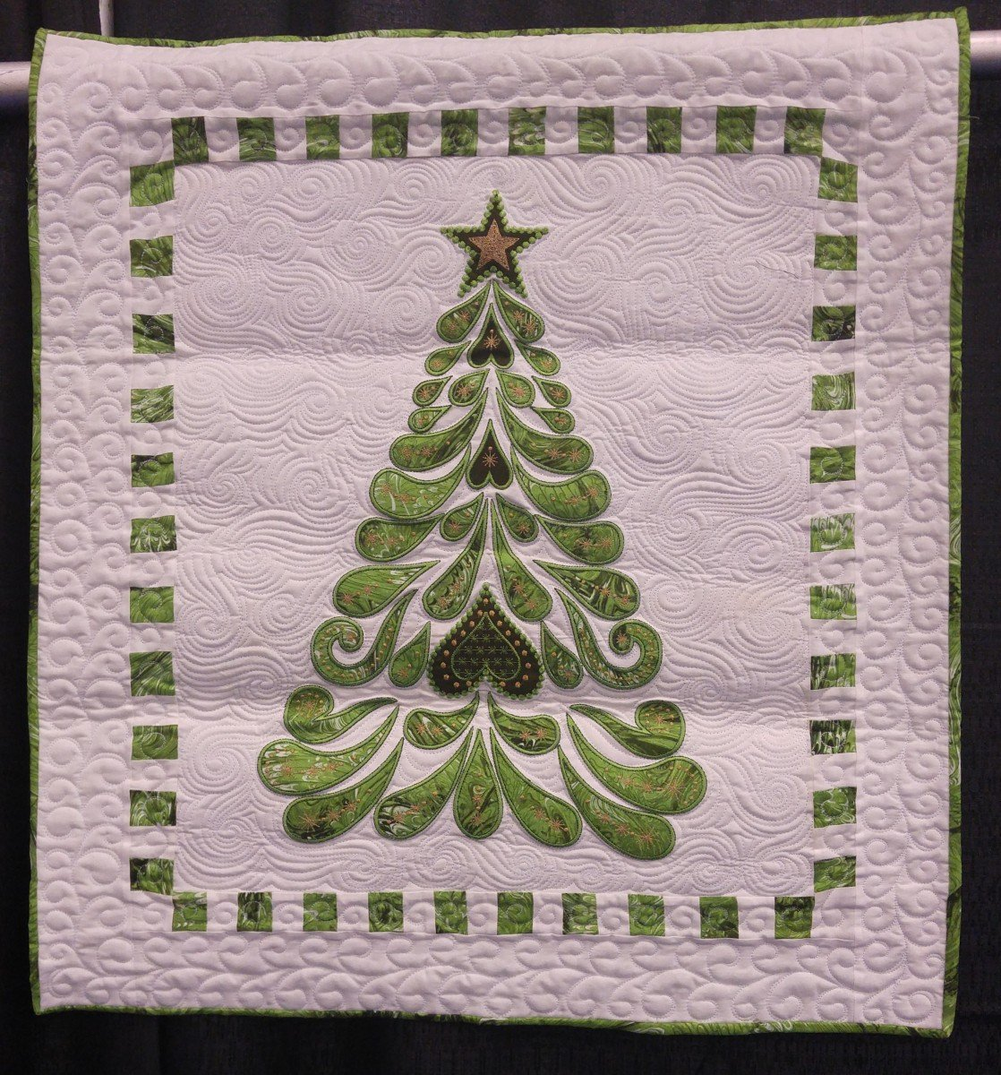 Feathered Christmas Machine Embroidery CD