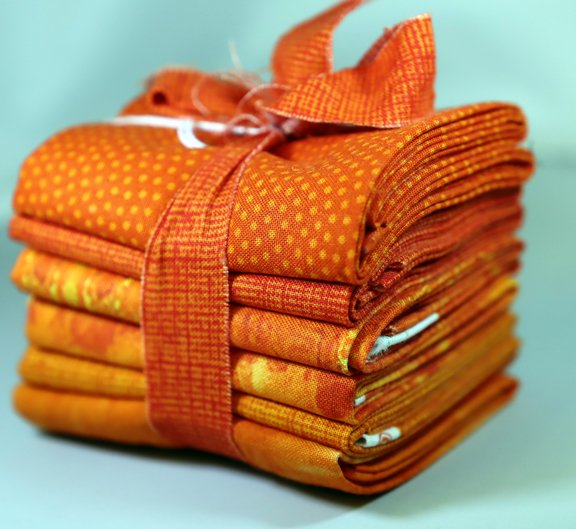 Tiger Lily Fat 6th Bundle - 1 Yard (6 - 12 x  21 Pre-Cuts)