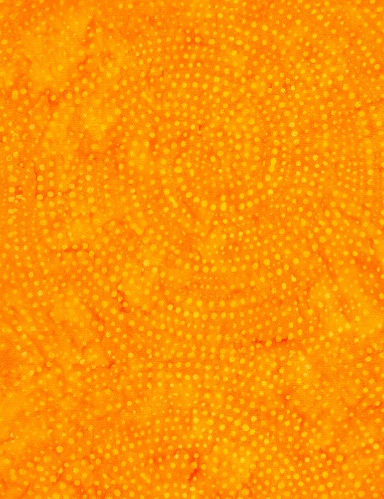 Tonga Color Wheel Rainbow Batik B2336-ORANGE