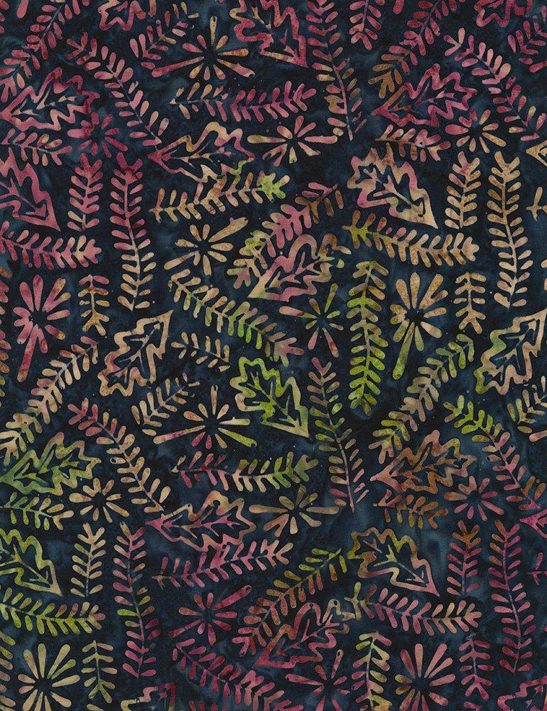 Tonga Lush Batik B4148-NAVY
