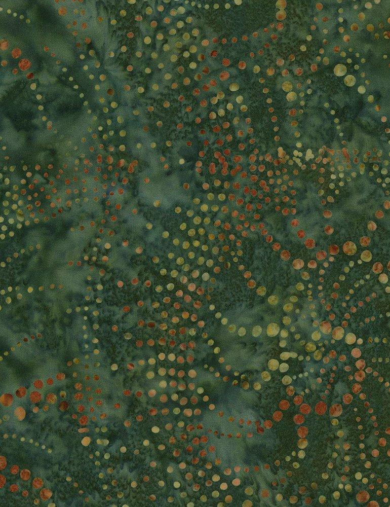 Tonga Cranberry Batik B5808-PISTACHIO