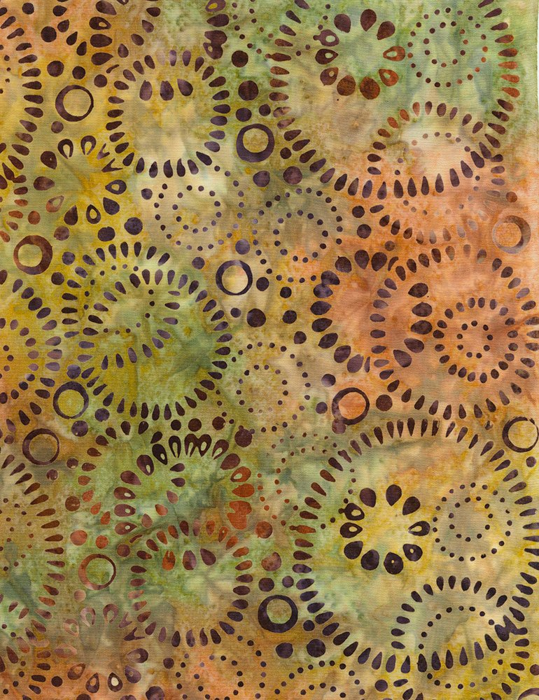Tonga Cranberry Batik B5978-LIME