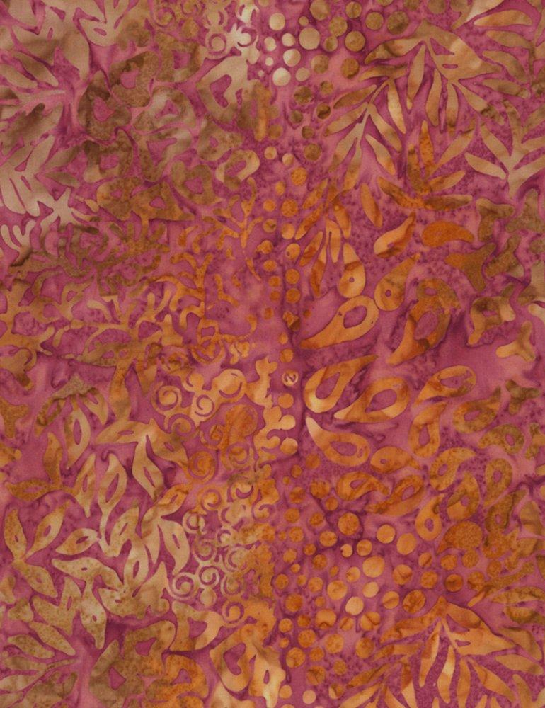 Tonga Posey Batik B6947-PLUM