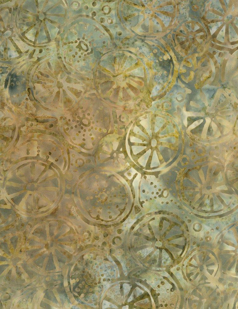 Tonga Posey Batik B6948-WILLOW