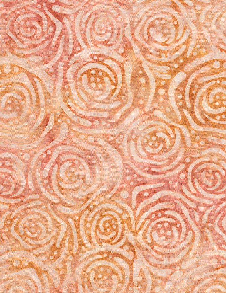 Tonga Posey Batik B6949-AMBER