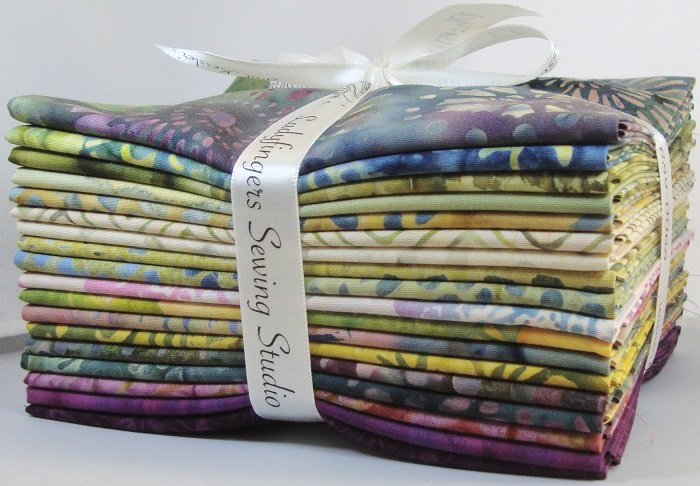 Tonga Gypsy Batiks Fat Quarter Bundle